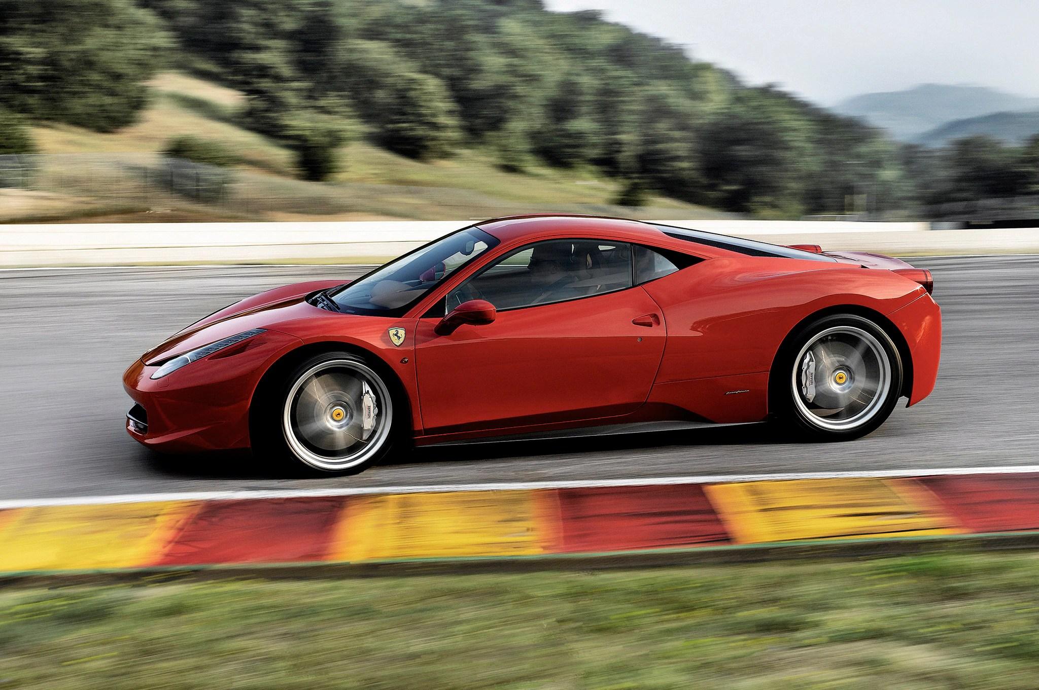 """Ferrari 458 """"Broke Left and Right"""" When Testing Against ..."""