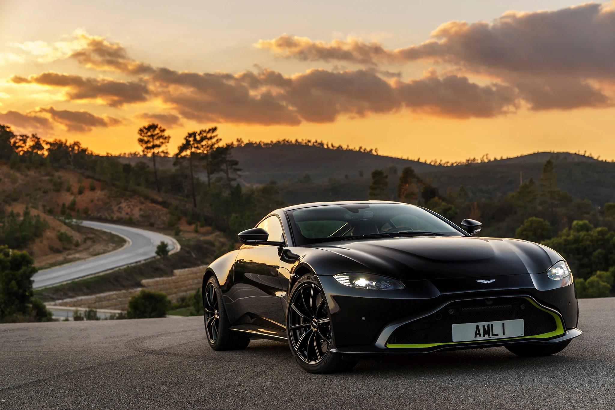 2019 Aston Martin V8 Vantage First Drive Review ...