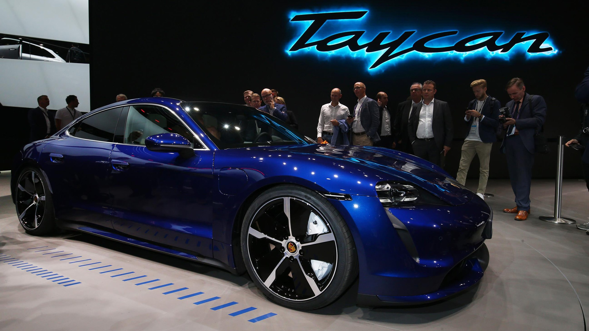 Porsche Taycan Debut Impressions From The 2019 Frankfurt