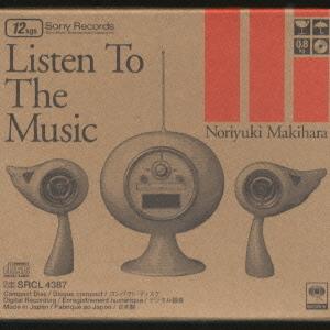 Cdjapan Listen To The Music Noriyuki Makihara Cd Album