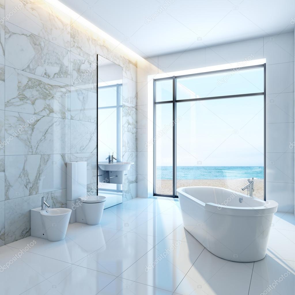 beautiful white bathrooms - HD