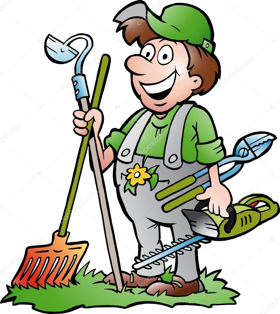 people gardening clip art - 800×898