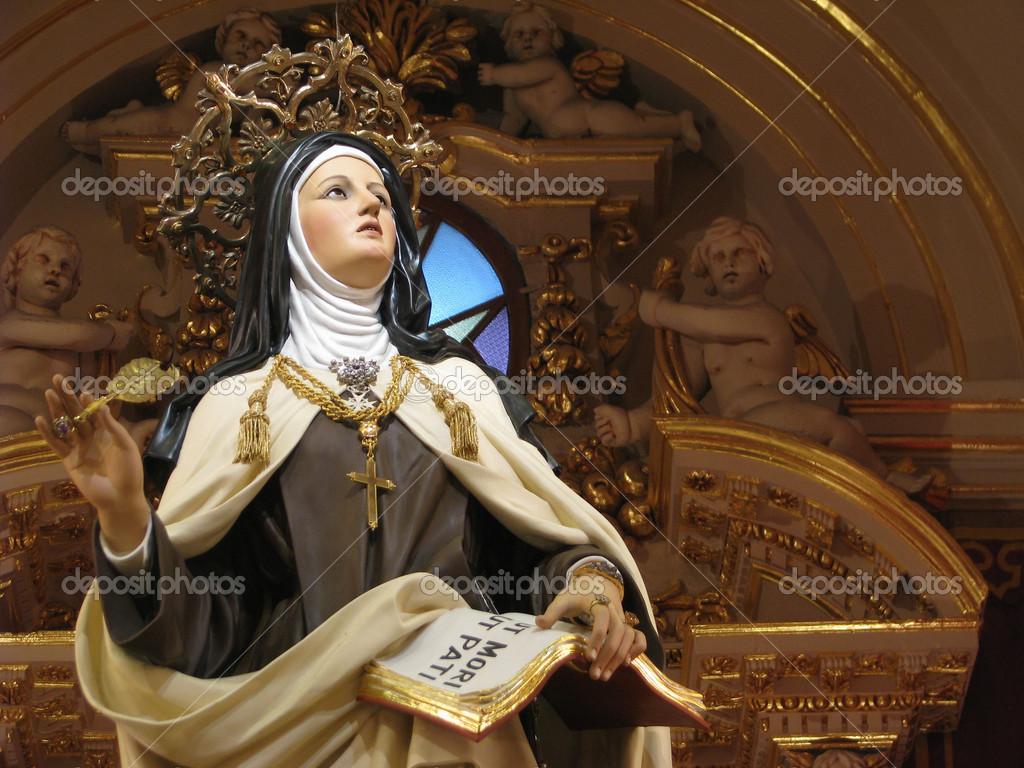 Therese Saint Avila Statue