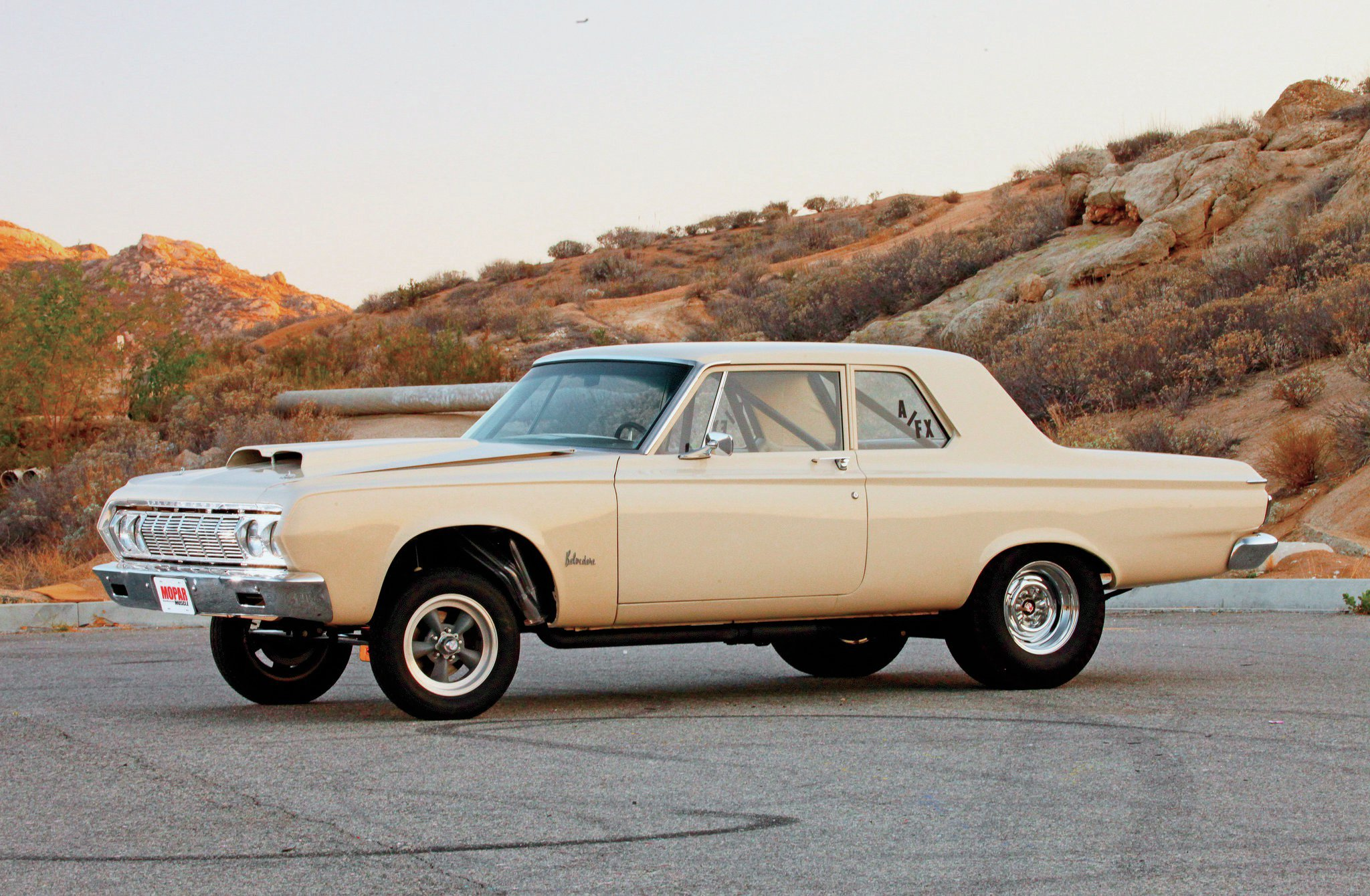 1964 Plymouth Belvedere   Give  Em An Inch      Hot Rod Network 1964 Plymouth Belvedere Driver Side