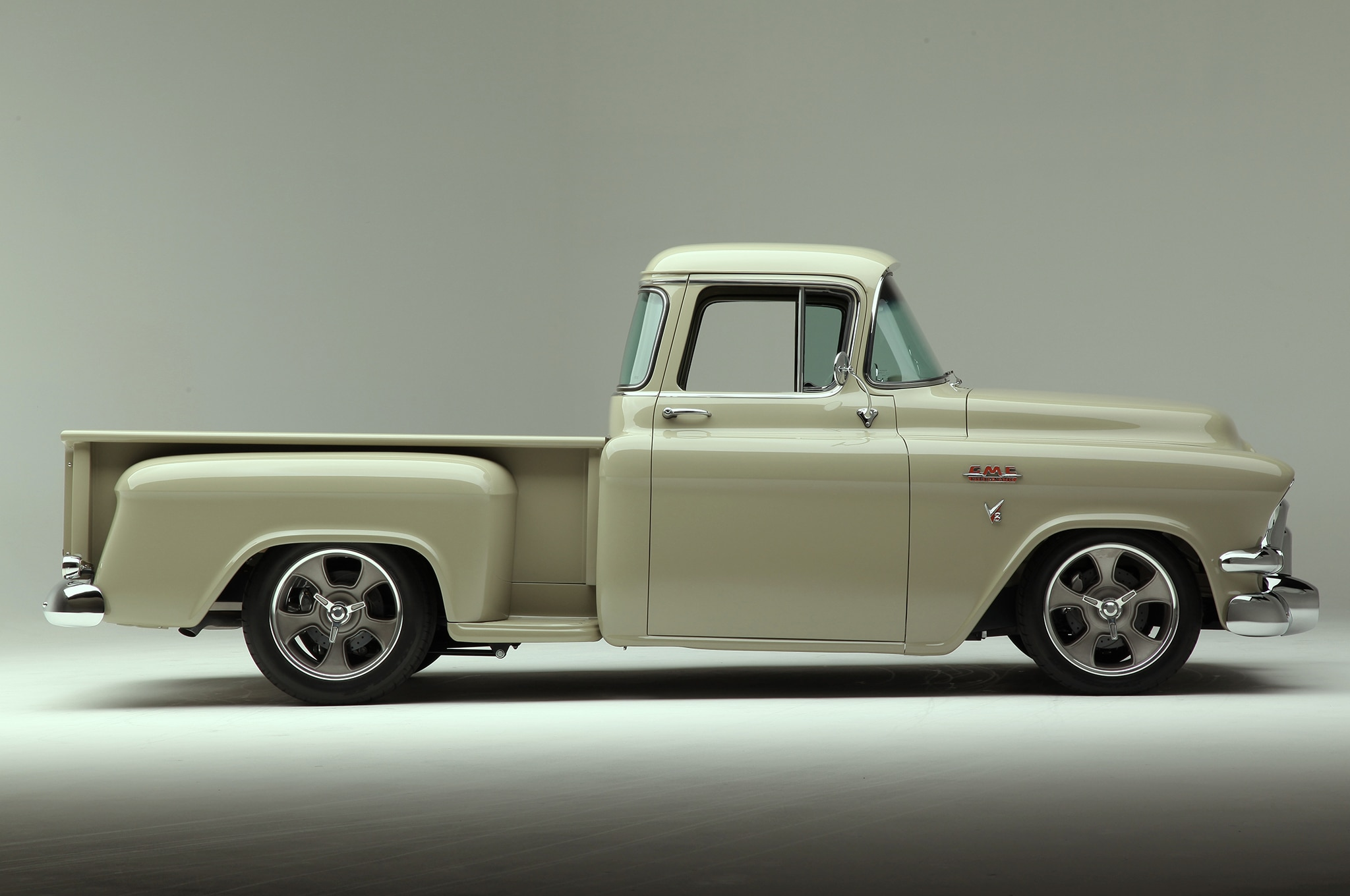 The 1955 Gmc Stepside That Didn T Get Away Hot Rod Network