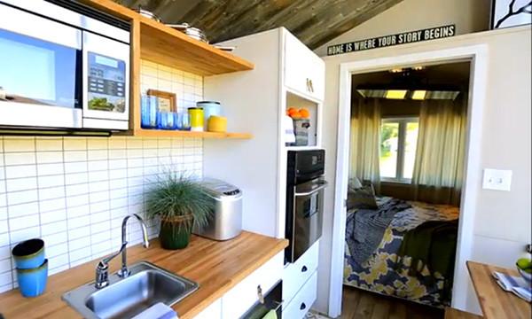 Tiny House Nation Modern Kitchen Sacramento By