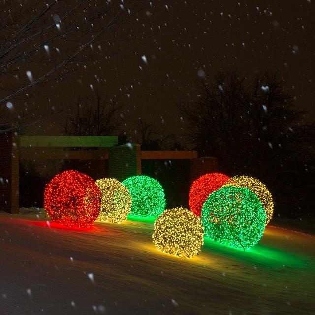 Unique Christmas Lights Outdoors