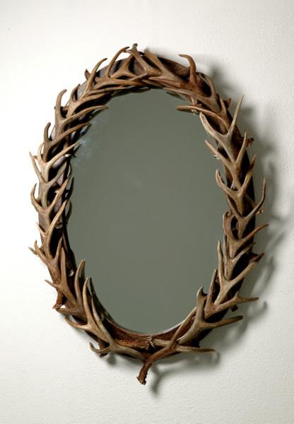Iron Mirror Wall Decor