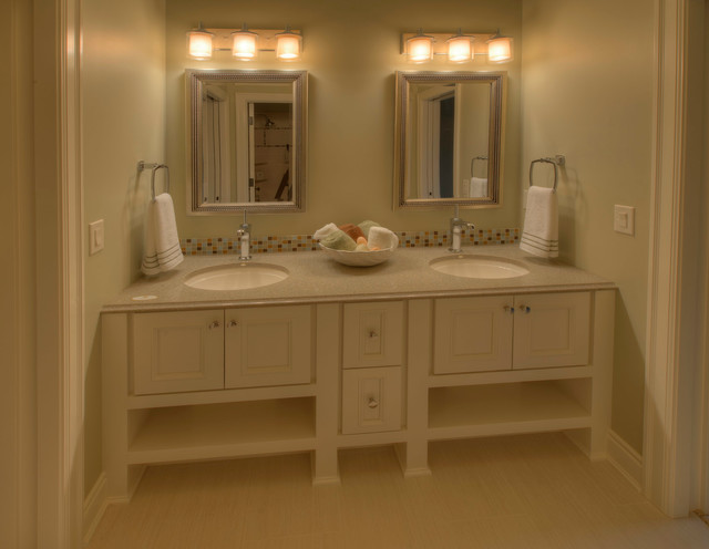 Custom Cabinets Contemporary Bathroom Vanities And