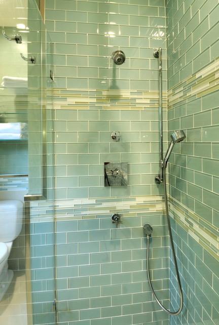 Retro Bathroom Contemporary Bathroom Other Metro