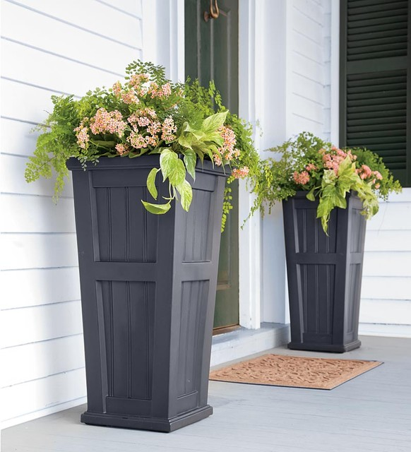 Tall Planters Ideas