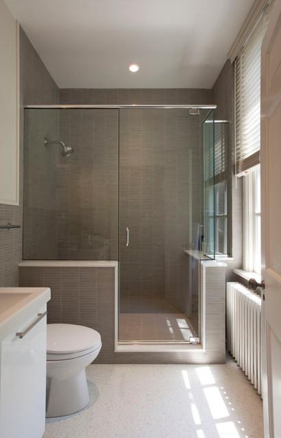 Manhattan Townhouse Modern Bathroom New York By