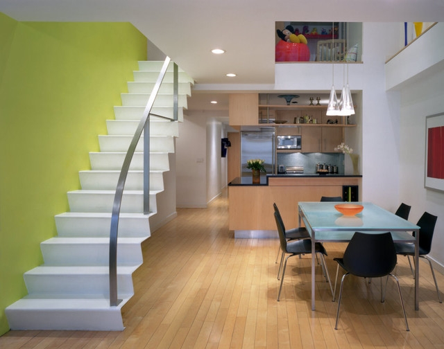 Home Designs Duplex House Staircase Designs   Inner Steps Design For House   Contemporary   Ultra Modern   Metal Staircase   Double Storey   Side Wall
