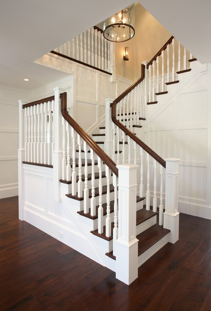 Traditional Home Staircase