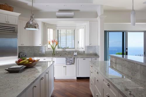 Siberian White Granite Kitchen Countertops