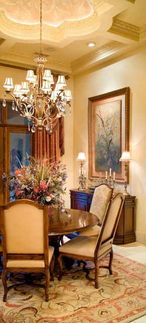 Tuscan Villa Traditional Dining Room Austin By