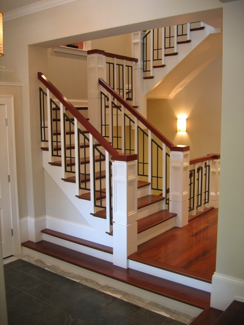 Cene Build A Shed Floor 85 | Craftsman Style Stair Railing