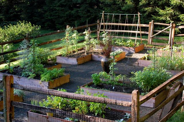 Raised Garden Layout Ideas