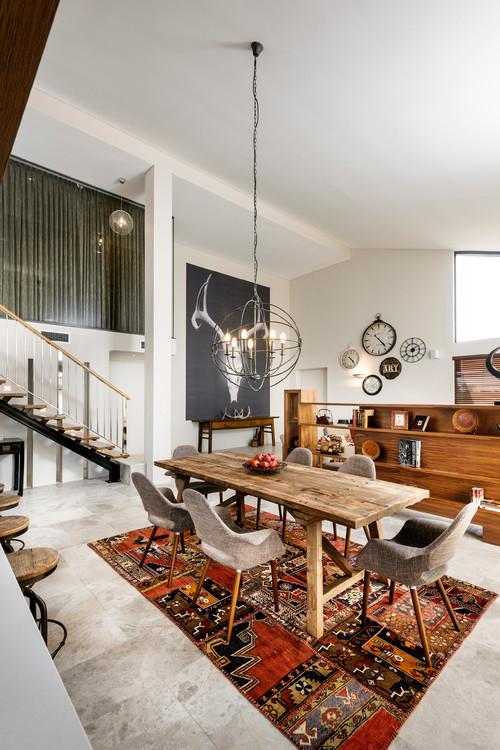Table Living Room Design