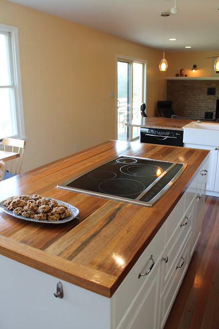Reclaimed Wood Tables Amp Counters Kitchen Countertops