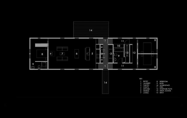 Kitchen Plans Floor Modern