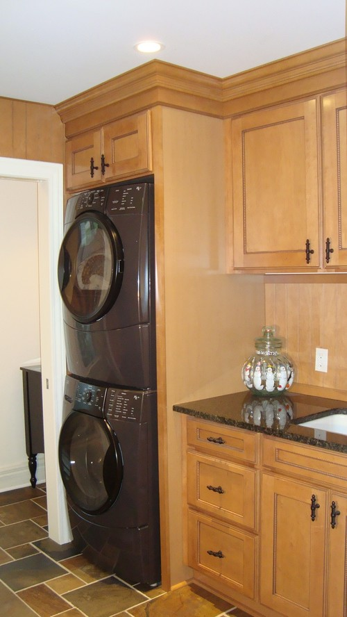 Small Kitchen Design Washer And Dryer