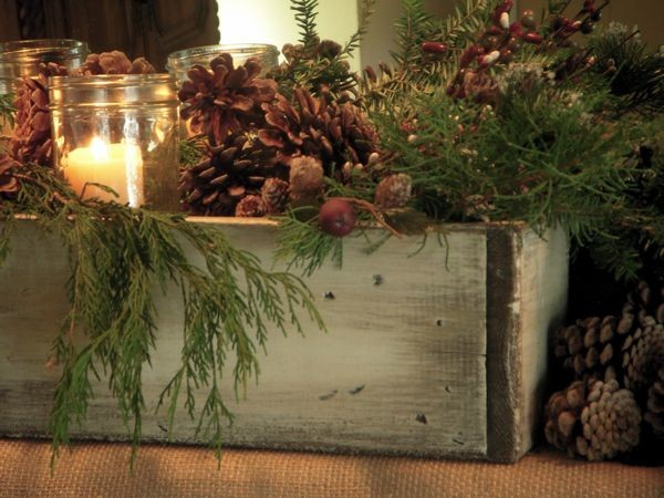 Dawn Mohrmann S Nature Inspired Mantel Traditional Family Room