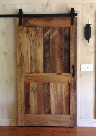 Sliding Doors Eclectic Living Room Atlanta By