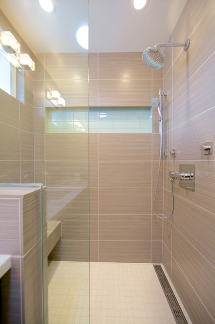 Contemporary Shower Contemporary Bathroom San Diego