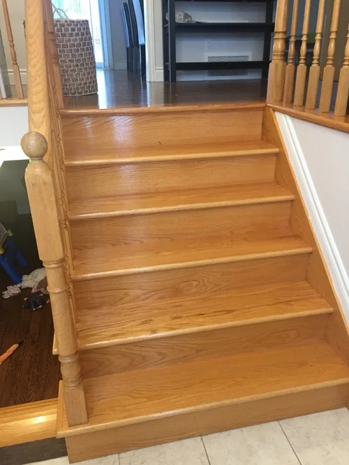 Design Help With Split Level Entry Stairs | Split Level Entry Stairs | Raised Ranch | Tri Level | Modern | Knee Wall | Entrance