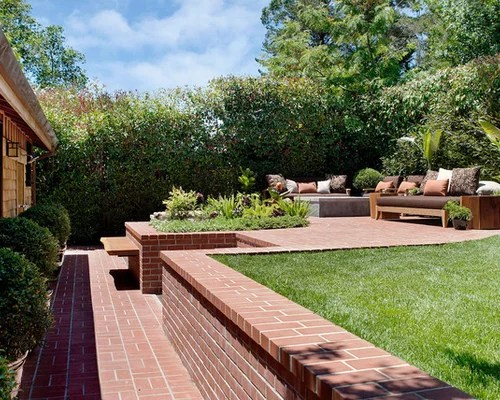Two Tiered Backyard Houzz