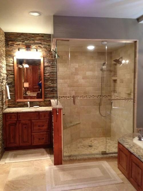 Rustic Elegant Master Bath