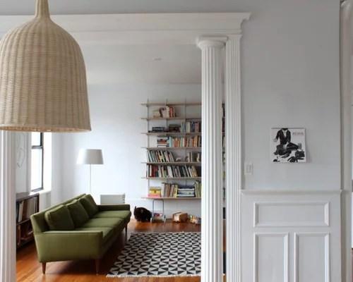 Decor Room Living Walls Yellow Interior