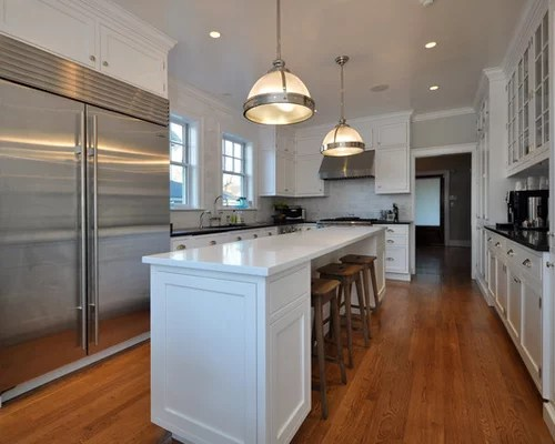 Long Narrow Kitchen Home Design Ideas Pictures Remodel