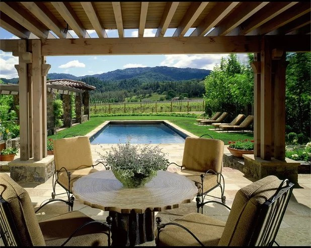 Style Usa Sublime Outdoor Rooms From Across The Pacific