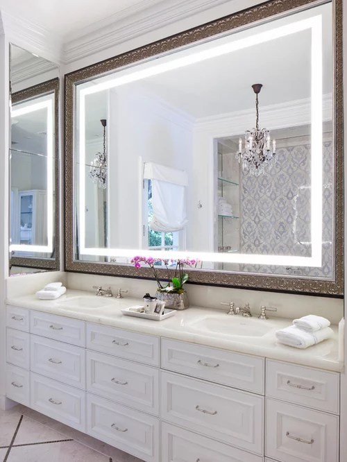 Large Bathroom Mirror Home Design Ideas Pictures Remodel