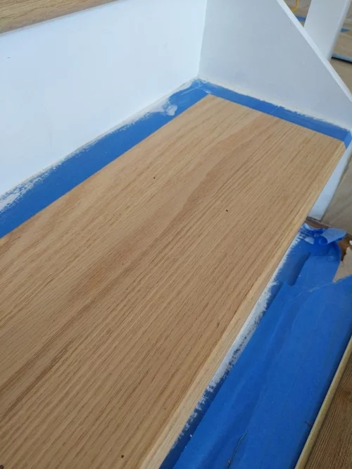 Top Coat For Red Oak Stair Treads   Unfinished White Oak Stair Treads   Wood Stair   Hardwood Flooring   Red Oak   Flooring   Risers