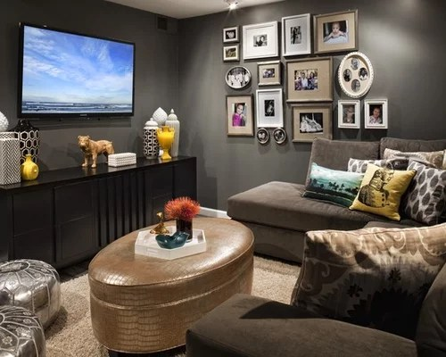 Masculine Living Room Decorating Ideas