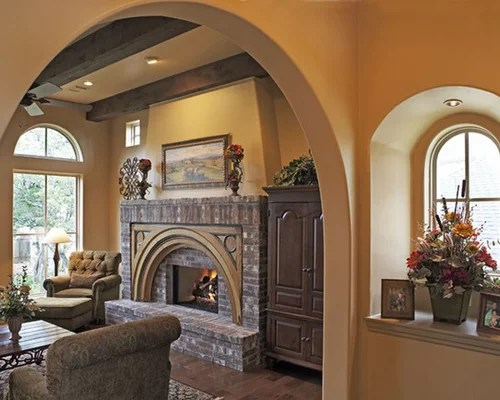 Painted Arch Home Design Ideas Pictures Remodel And Decor