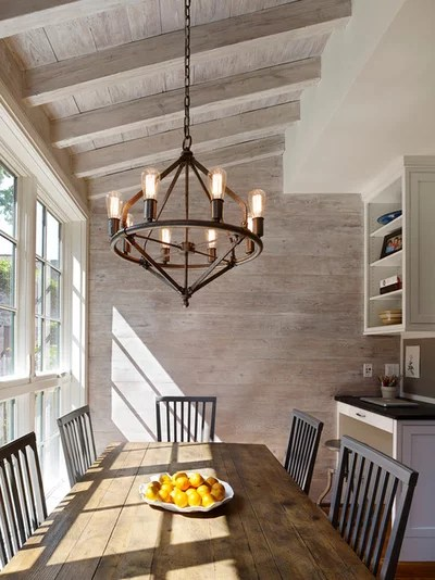 12 Touches To Add Farmhouse Style To Your Dining Room