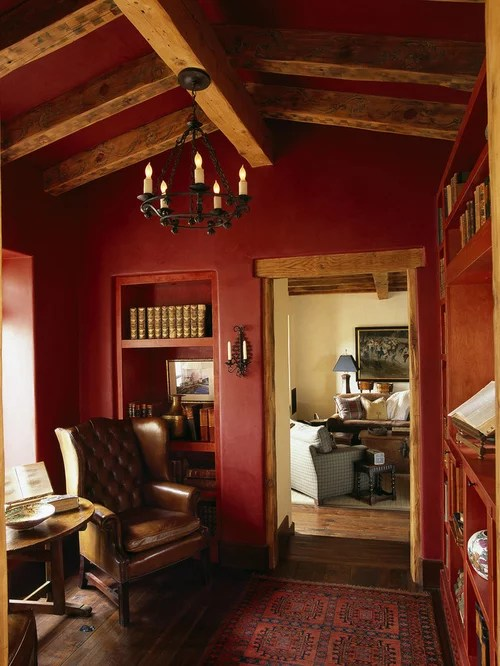Red Wall Paint Home Design Ideas Pictures Remodel And Decor