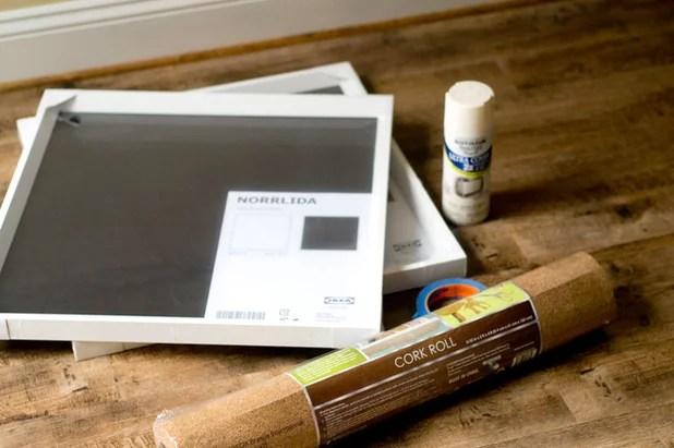 Get Organized Make Your Own Stylish Corkboard
