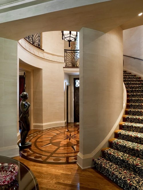 Patterned Stair Carpet Home Design Ideas Pictures
