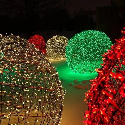 Botanical Gardens Christmas Lights