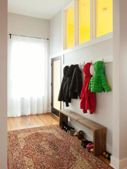Narrow Entryway Home Design Ideas Pictures Remodel And Decor