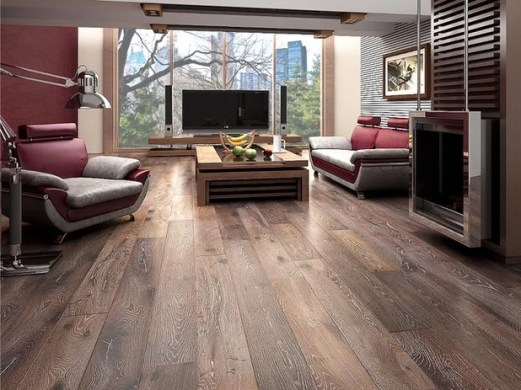 When to Use Engineered Wood Floors Contemporary Hardwood Flooring by Paul Anater