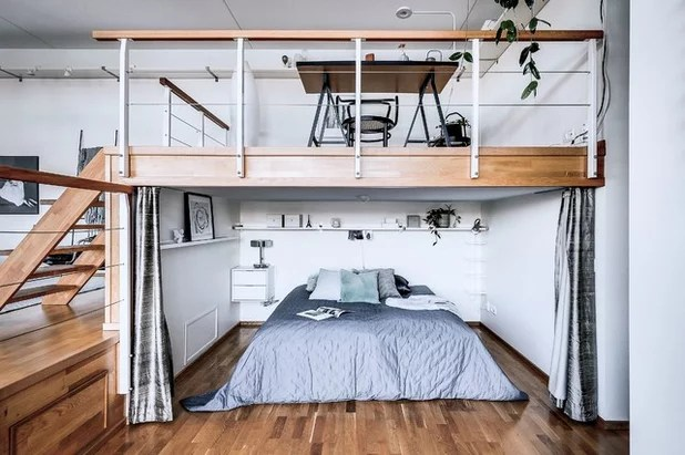 Stockholm Houzz Tour Three Level Loft With Harbour Views