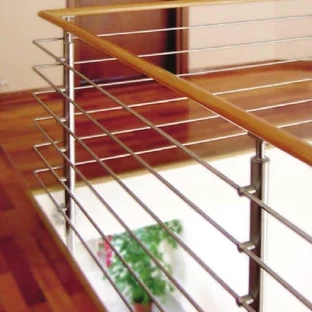 Interior Glass Stair Railing Houzz   Glass Stair Railings Interior   Indoor   Architectural Modern Wood Stair   Stair Banister   Stainless Steel   Glass Balustrade