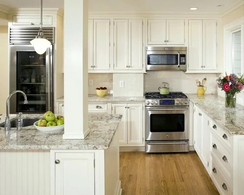 Cotton White Granite Houzz
