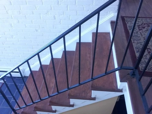 Suggestions To Update Wrought Iron Stair Railing Without Replacing | Wrought Iron Hand Railing Exterior | Cast Iron | Steel | Steps | Deck | Iron Stair Rail